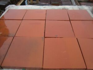 Quarry tiles 9 x 9 Red LARGE STOCKS