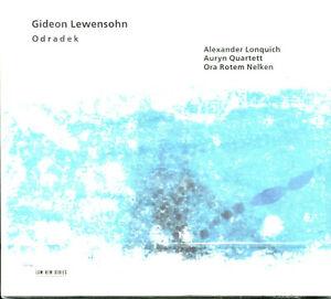 Gideon Lewensohn Odradek CD NEW ECM Records