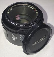 Minolta Maxxum AF 50mm F1.7 AF Camera Lens