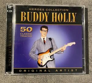 Buddy Holly - Heroes Collection - 50 Classic Tracks - 2 CD's Album -2009