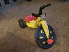 "Rare find, vintage 1988 Mighty Tonka Playskool  big wheel ""Like Coleco"" ""Empire"""