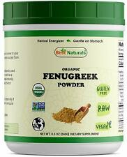 Best Naturals USDA Organic Fenugreek Seed Powder 8.5 OZ (240 Gram)