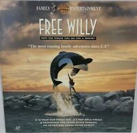 Free Willy laserdisc Orca whale Friendship WideScreen Michael Jacksons