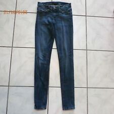 69249e8f287 Flying Monkey Low Rise Skinny Blue Jeans Womens Size 26 x 30 Stretch Denim  A946