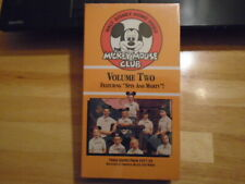 SEALED RARE OOP Mickey Mouse Club vol 2 VHS video WALT DISNEY Annette Funicello