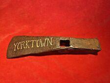 New listing Rare Revolutionary War Blacksmith Hand Forged Iron Pick Axe Head Yorktown Found