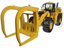 CAT CATERPILLAR 988K WHEEL LOADER WITH GRAPPLE 1/50 BY DIECAST MASTERS 85917