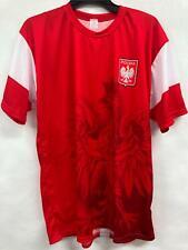 NEW Polska (Poland) Soccer Team official jersey Mens Sz XXL RRP$40