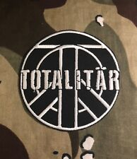Totalitar Embroidered Patch T014P Crass Discharge Disrupt Phobia GBH