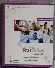 Freedom Scientific TestTalker software helps blind improve test-taking skills