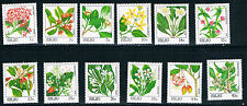Palau SC126-142 Beautiful Indigenous Flowers MNH 1987-1988