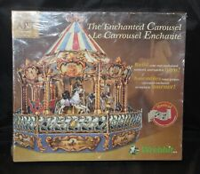 Built Art Enchanted Carousel CBC 202 Musical Moving Sealed New