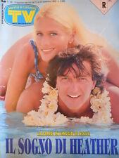 TV Sorrisi e Canzoni n°46 1993 Heather Parisi Francesco De Gregori [D50]