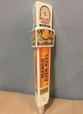 Ballast Point Beer Tap handle Mango Even Keel Skeleton California IPA Used