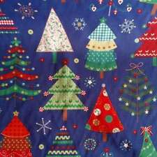 Crafts Holiday/Christmas Fat Quarter Unbranded Fabric