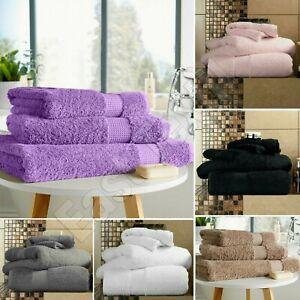 Luxury Towel Bale Set Hand Towel Bath Towel Face Towels 100% Cotton Bathroom Set