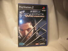 Playstation 2 X-MEN 2 La Vengeance De Wolverine PS2