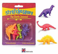 STRETCHOSAURS Stretchy Toy Dinosaurs Birthday Party Bag Filler Toys Kids Gift UK
