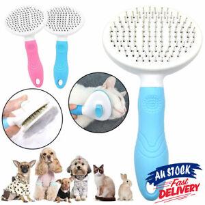 Pet Cat Grooming Comb Brush Deshedding Hair Removal Undercoat Knots Mats Tangles