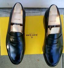 LN John Lobb Lopez Black Penny Loafer Shoes 9.5