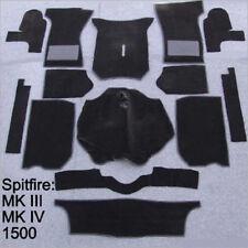 Carpet set for Triumph Spitfire MKIII  MKIV and 1500  Velours black