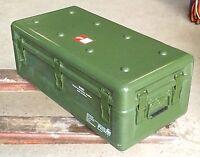 Bundeswehr Transport Lager Behälter GFK Box Flightcase Dachbox Werkzeug Kiste