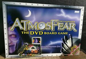 AtmosFear The Gatekeeper DVD Board Game, Atmosphere Horror Fantasy Family Game