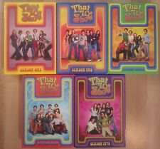 THAT '70s SHOW complete Seasons 1-5 DVDs Mila Kunis