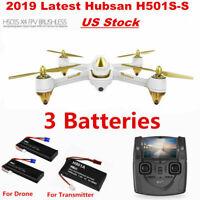 Hubsan X4 H501S PRO 5.8G FPV Brushless Drone W/1080P Headless RC Quadcopter RTF