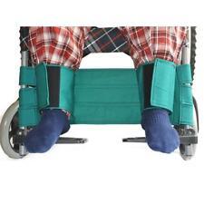 ceinture de sécurité en tissu de coton réglable en fauteuil roulant pour