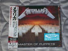 Metallica - Master Of Puppets (Japan SHM-CD) pantera/testament/megadeth