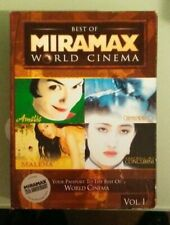 The Best Of Miramax World Cinema vol volume 1 Dvd malena amelie cinema paradiso