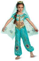 Disney Princess Jasmine From Aladdin Costume Toddler Girl Size 3T-4T NEW