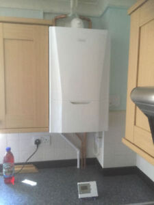 Ideal Vogue Max 40 Kw combi + flue & ESI control supplied and installed