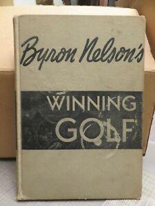 BYRON NELSON'S WINNING GOLF Book (1946)