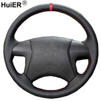Hand Sew Car Steering Wheel Cover For Toyota Highlander Toyota Camry 2007-2011