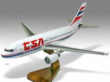 Airbus A310-300 CSA Solid Kiln Dried Mahogany Wood Handcrafted Desktop Model