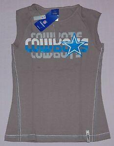 Dallas Cowboys Womens Reebok Astronomy Split V-Neck T-Shirt 2XL