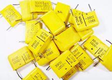 100 x Pellicola Condensatore 0,0033uf 3,3nF 1000VDC WIMA fkc-3 sciolto #19f67#