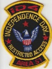 Independence Day Area 51 Restricted Access patch RARE