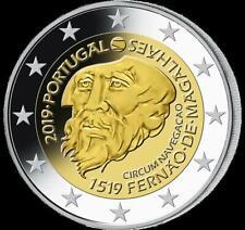 2 Euro Portugal 2019 Magellan Weltumsegelung 500 Jahre  bfr