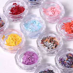 50pcs Butterfly Nail Art Filling Jewelry DIY Epoxy Embossing Craft Accessories
