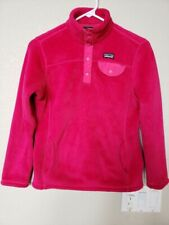 Patagonia Girl's Re-Tool Snap - T Fleece Pullover Size L - Extra Soft