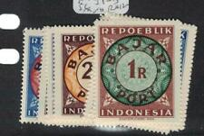 Indonesia Postage Dues SC J1-12 MNH (1ecp)