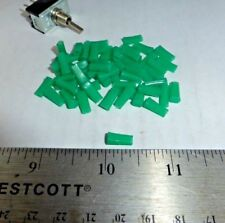 LOT OF  GREEN COLOR PUSH-ON LEVER ACTUATORS FOR MINI TOGGLE SWITCHES S