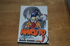 Naruto Vol 7 Orochimaru's Curse Shonen Jump Manga NEW