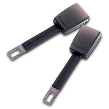 "Zone Tech 2x Car Seat Belt Extenders 8"" Rigid Type A Safety Buckle Extensions"