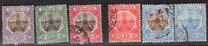BERMUDA 1906/10 STAMP Sc. # 31/2, 34/5 AND 37/8 USED