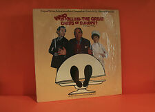 WHO IS KILLING THE GREAT CHEFS OF EUROPE SOUNDTRACK - SHRINK LP VINYL RECORD -S