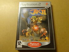 PS2 GAME / JAK II: RENEGADE (PLAYSTATION 2)
